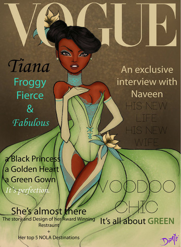 Vogue ディズニー Darlings - Tiana (Repainted)by ~dantetyler