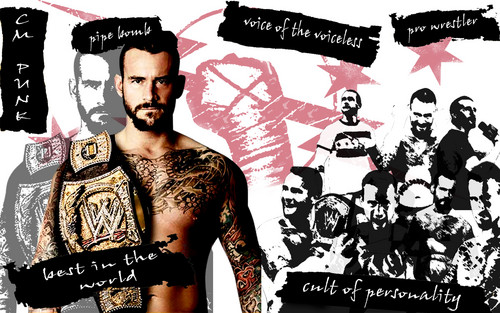Voice Of The Voiceless - cm-punk Wallpaper