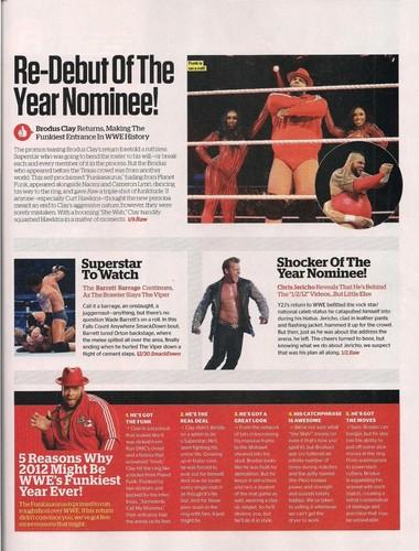 wwe Magazine-March 2012