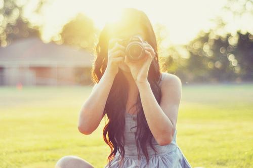 Фото девушек с камерой на аву