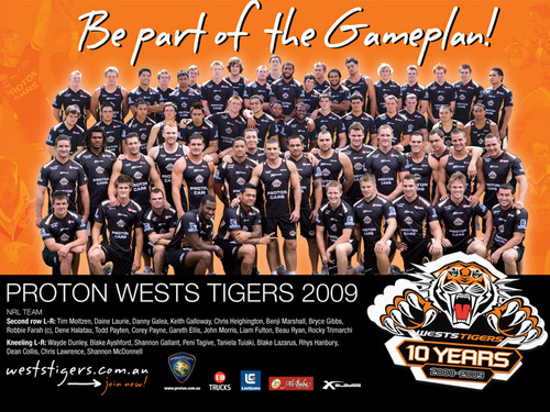 West Tigers Team