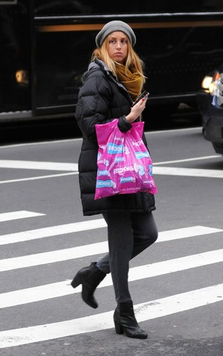 Whitney out shopping in NIC