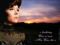 Winter at sunset - diana-rigg wallpaper