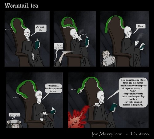 Wormtail tea comic