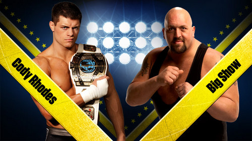 Wrestlemania 28:Cody Rhodes vs Big tunjuk