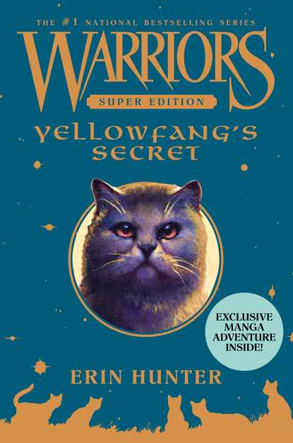 Yellowfang's Secret book cover