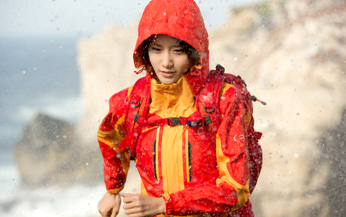 S♥NEISM wallpaper possibly with a dashiki called Yoona @ Eider Promotion Pictures