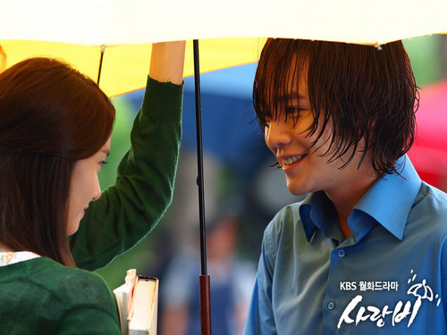 Yoona & JGS 'Love Rain' Official Pictures