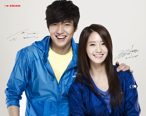 Yoona & Lee Min Ho for Eider