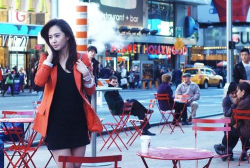 Yuri @ SBS Fashion King Recording Picture
