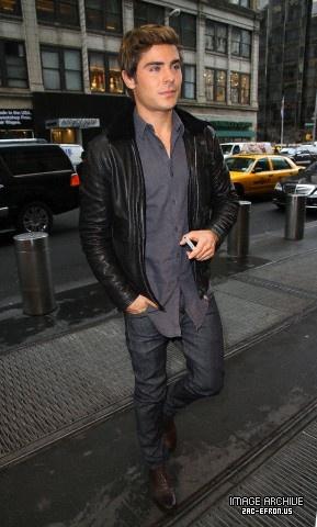 Zac Efron NBC Studios In New York City