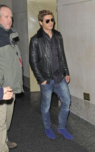 Zac Efron -New York 2012