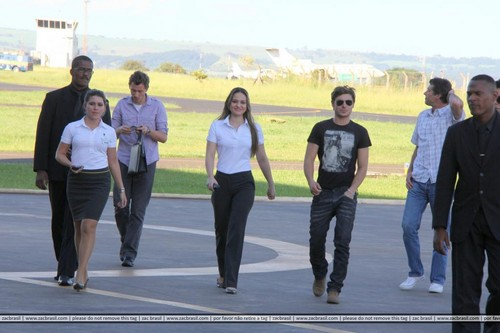 Zac Efron not Brasil 2012