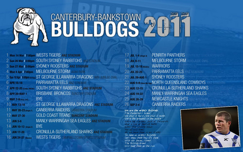 bulldogs draw 2011