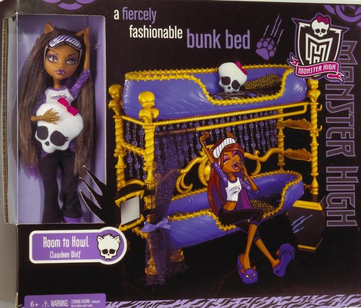 clawdeens bed!!! - monster-high photo