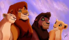 couples from lion king 2