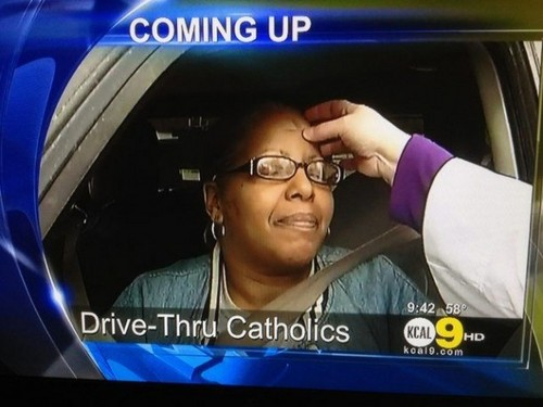 drive-thru catholics - atheism Photo