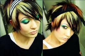 エモ hair style