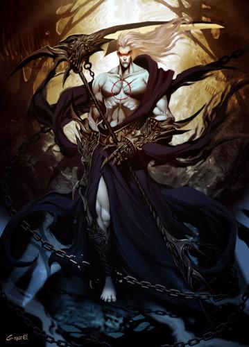 Griechische Mythologie Hintergrund entitled hades