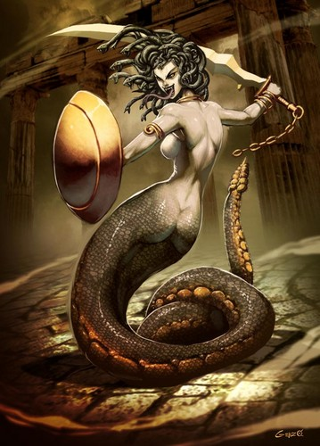 Greek Mythology wallpaper called medusa