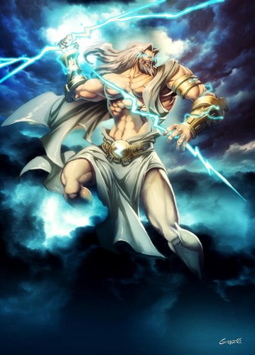 Greek Mythology wallpaper possibly with anime called zeus