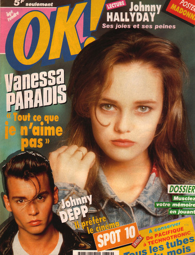 johnny&vanessa 1990 magazine