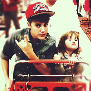 justin bieber and sister jazzy