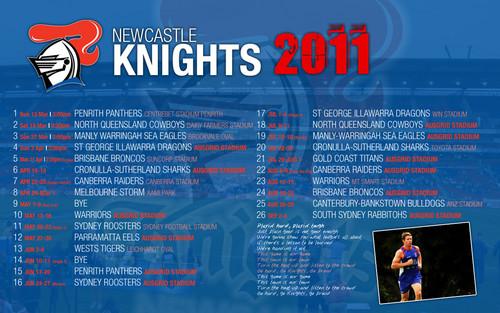 knights draw 2011