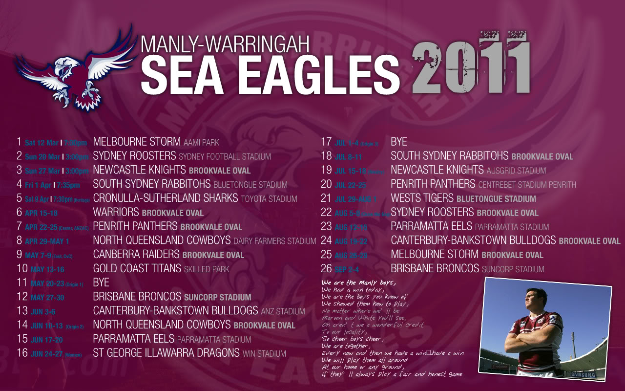 manly sea eagles - photo #42