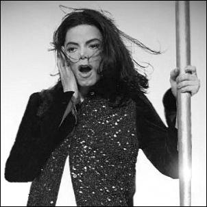 Michael Jackson Hintergrund titled mj