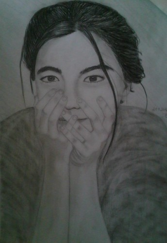 my Björk drawing