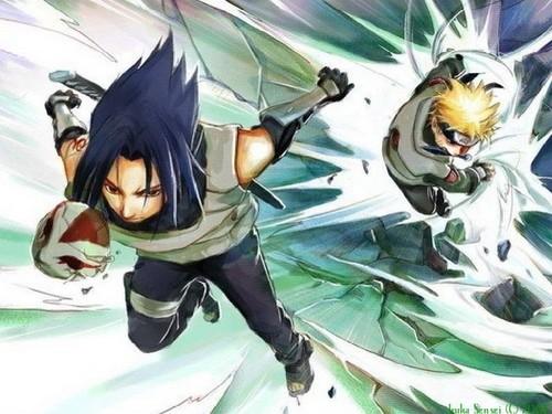 NARUTO -ナルト- vs sasuke