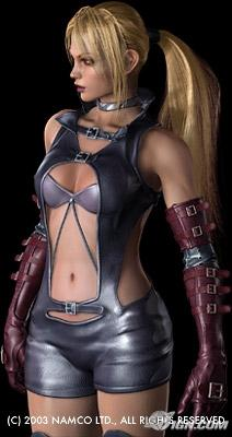 Tekken wallpaper probably with a breastplate, a leotard, and a bustier entitled nina