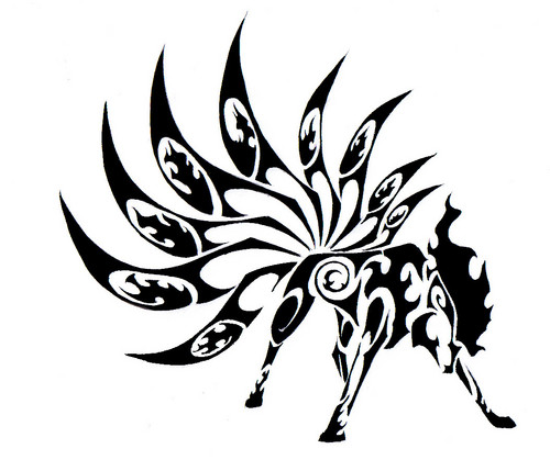 Tribal tato wallpaper probably containing a sign entitled pokemon