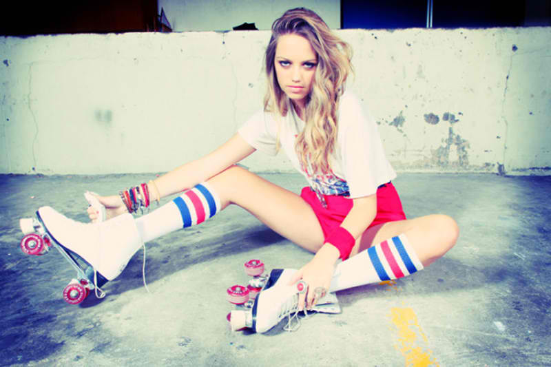 Roller Skating images roller girl HD wallpaper and background photos
