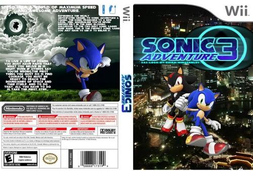 sonic adventure 3 coverart 2