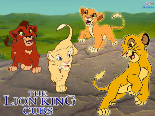 the lion king cub 壁纸