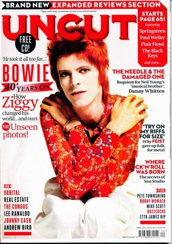 uncut magazine, march 2012