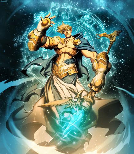 Greek Mythology wallpaper containing anime titled uranus