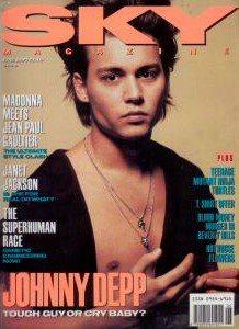 young Johnny in magazine