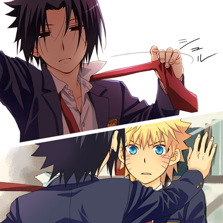 ;D naruto and Sasuke