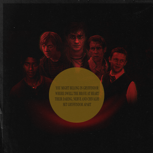Gryffindor Boys