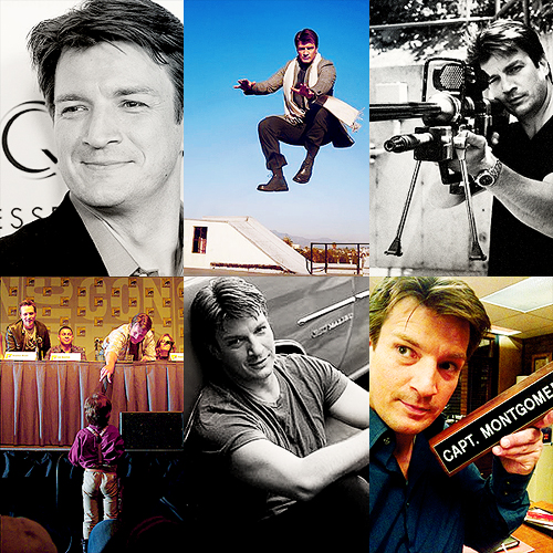 Nathan Fillion wallpaper with Anime titled ★ Nate ★
