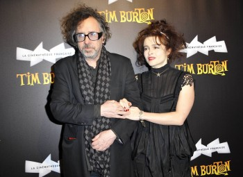 "Tim برٹن پیپر وال probably with a well dressed person titled ""Tim Burton, the Exhibition"" at the Cinematheque Francaise"