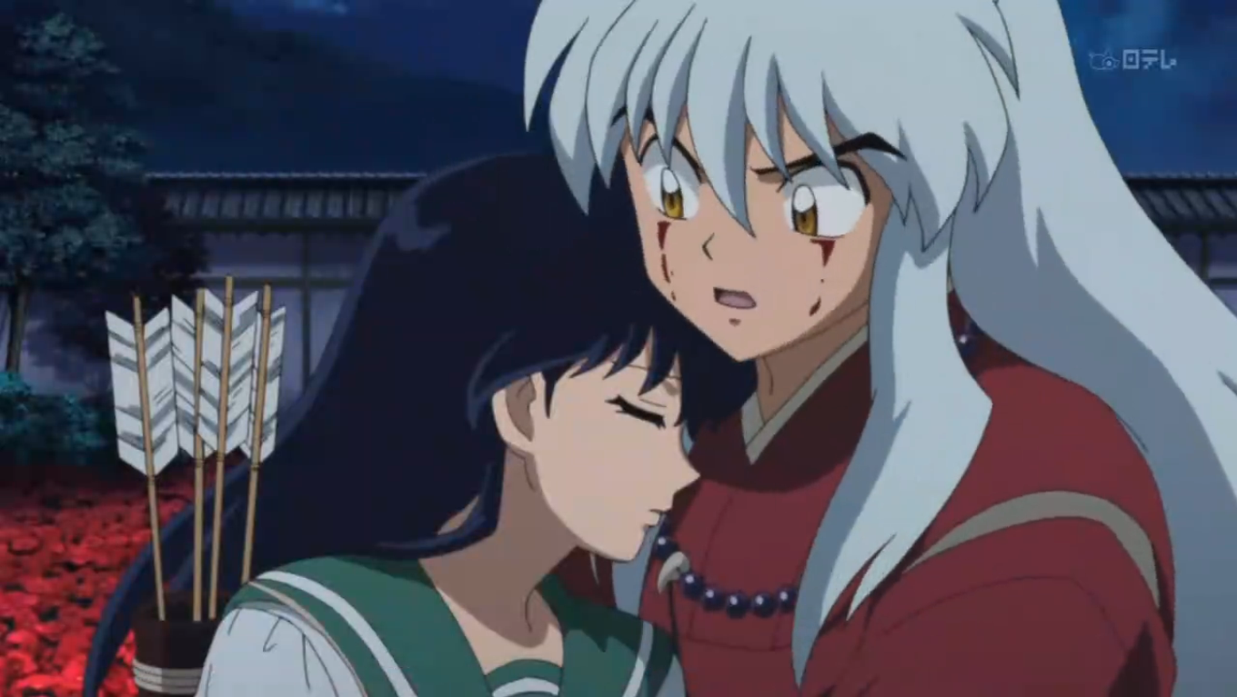 2020 Other Images Kagome And Sesshomaru Kiss Episode