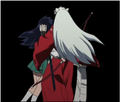 ♥ - inuyasha-and-kagome screencap
