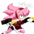 Adult Amy Rose - sonic-girls fan art