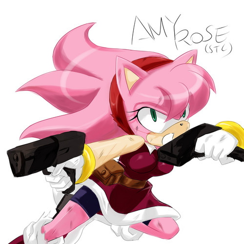 Adult Amy Rose
