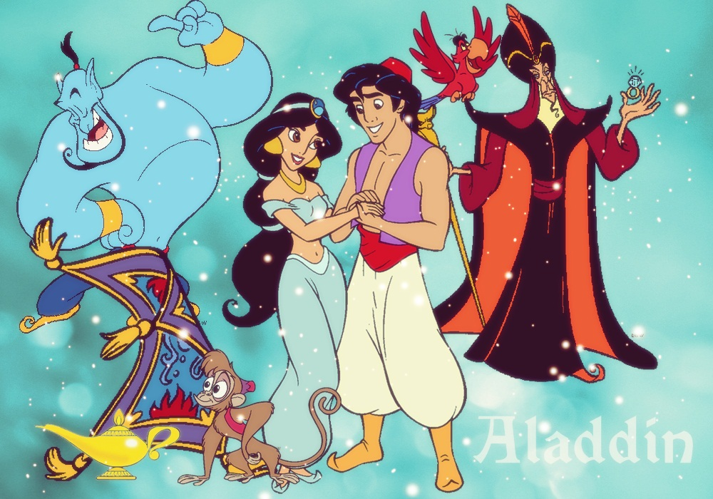 Aladdin - Disney Princess Fan Art (29594042) - Fanpop