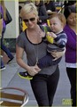 Amy Poehler: Toy Store Trip with Abel - amy-poehler photo